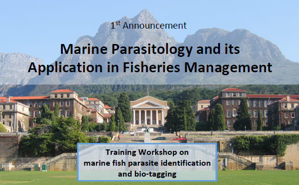 APPLICATIONS NOW OPEN: Marine parasite diversity in southern Africa & its application in fisheries management