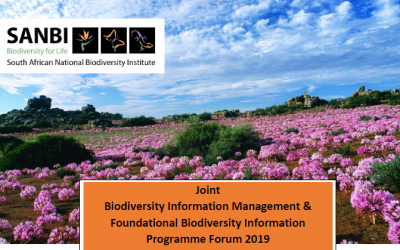 CALL FOR ABSTRACTS: Joint Biodiversity Information Management & FBIP Forum 2019