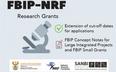 Extension of cut-off dates for applications for funding – FBIP Concept Notes for Large Integrated Projects and FBIP Small Grants