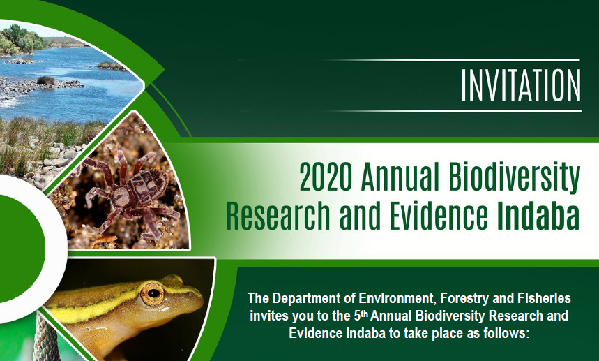 INVITATION: Biodiversity Research and Evidence Indaba