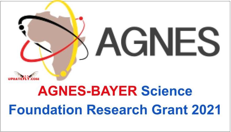 APPLY: AGNES-BAYER Science Foundation Research Grant 2021
